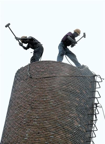 通化烟囱人工拆除公司——稳定市场
