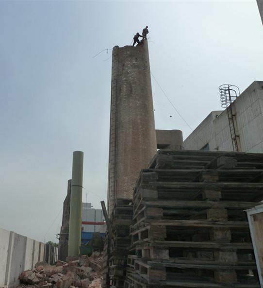 庄河烟囱拆除公司2021施工单位