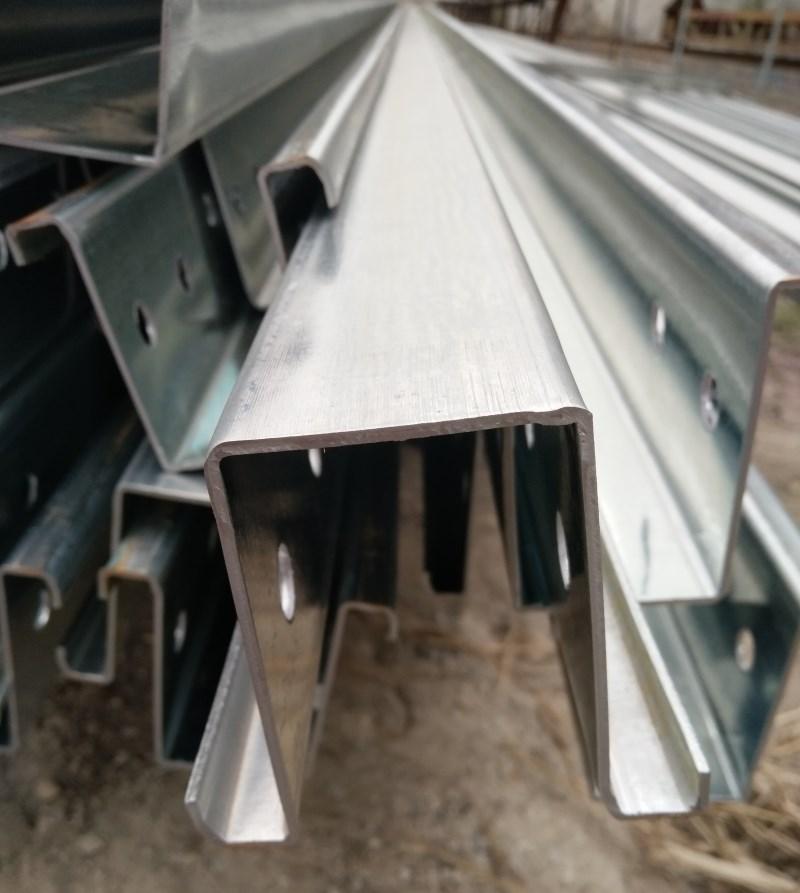 谢通门县镀锌U型钢用于广泛