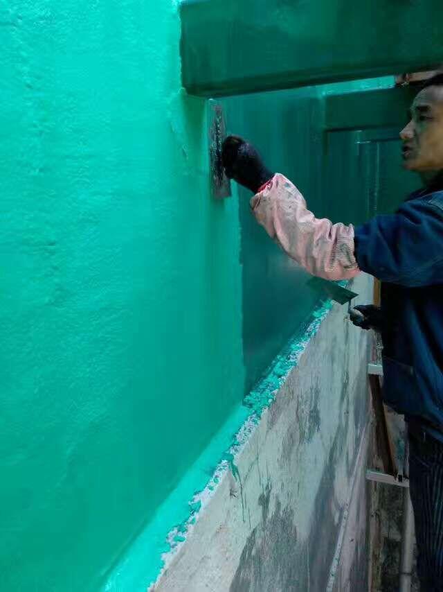 重防腐型玻璃鳞片涂料 龙口-烟道脱硫防腐施工