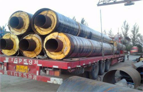 君山区供暖用直埋发泡保温钢管专业生产厂家