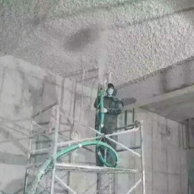 七台河市电梯井无机纤维喷涂多少钱一平米