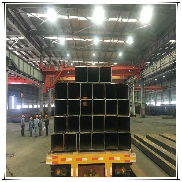 盐城超高大口径矩形管生产厂家  Q355E大口径方管切割
