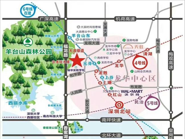 深圳大型小产权房有哪些Ff龙华金苹果花园地址j买小产权房应该怎样签合同才有效