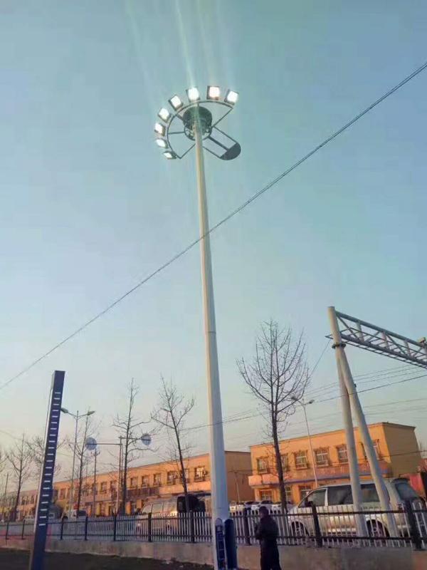 烟台莱州20米高杆灯厂家300瓦12火多少钱一套