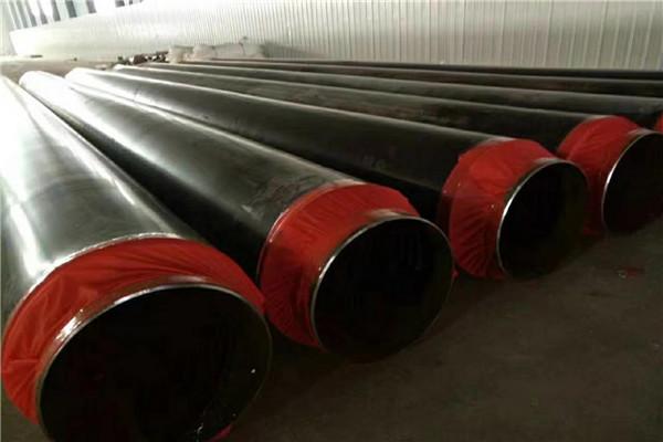 莱芜莱城热熔套连接聚氨酯发泡保温钢管一吨含税多少钱