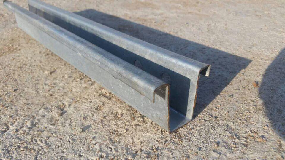 钢背楞C型钢昭通规范要点几字型钢