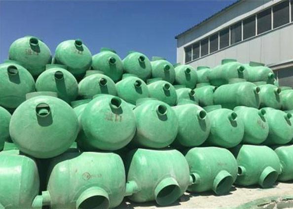 农村30立方地埋式雨水收集池,江北三格储粪池