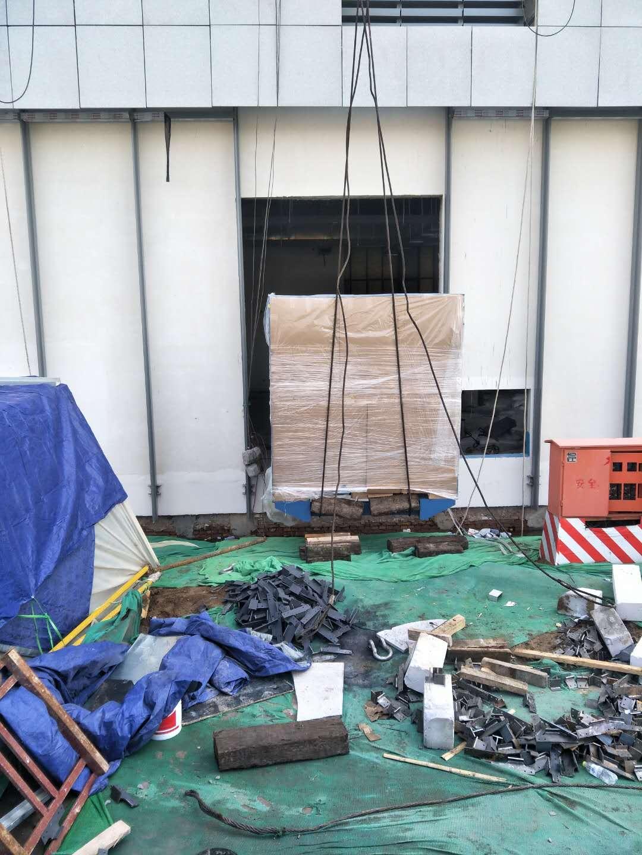 济南设备吊装公司(精密设备搬迁)多少钱