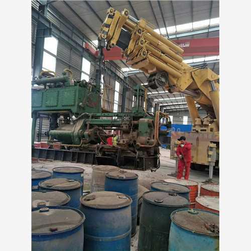 山东青岛设备搬迁|大型设备安装|地下室设备吊装公司