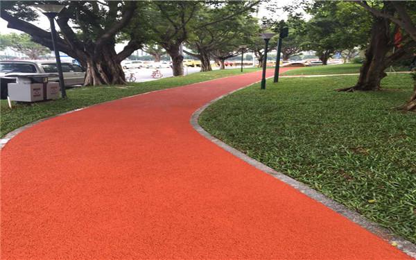 滁州市彩色透水地坪多少钱一平方