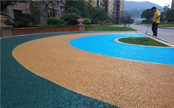 黑龙江省鸡西市彩色透水混凝土施工队