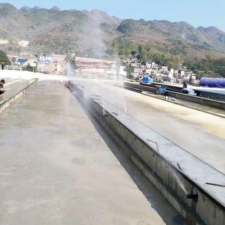 青岛胶州箱梁自动养护喷淋设备桥梁智能喷淋机