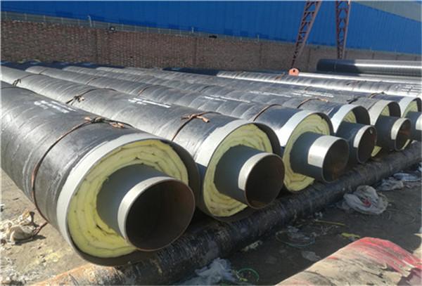 银川外滑动钢套钢地埋蒸汽保温管安装流程图