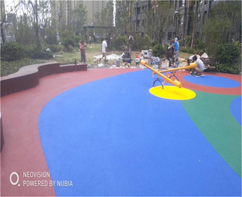 湖州(小区健身活动塑胶场地)专业建造