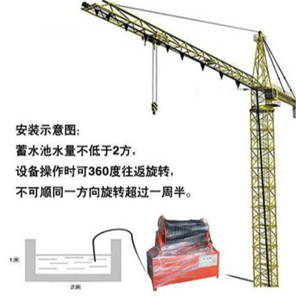 今日晨报:广东中山工地塔吊喷淋除尘设备