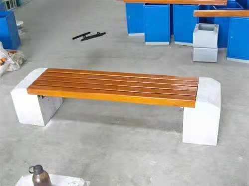 丹东公园木条靠背椅厂家量身定做