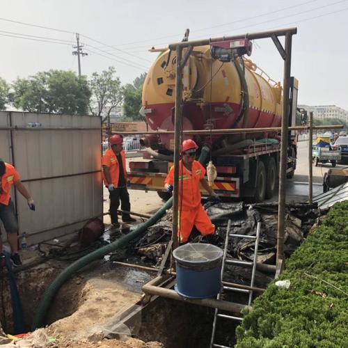 张家港市凤凰镇排污管道疏通——养护