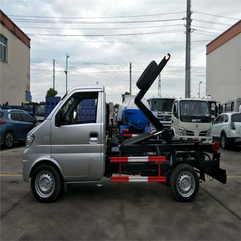 凯马国六小型勾臂式生活垃圾转运车价格