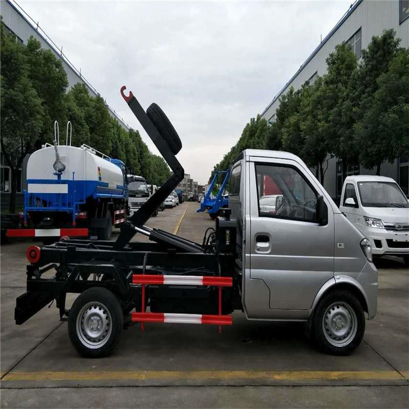 福田国六勾臂式生活垃圾转运车厂家