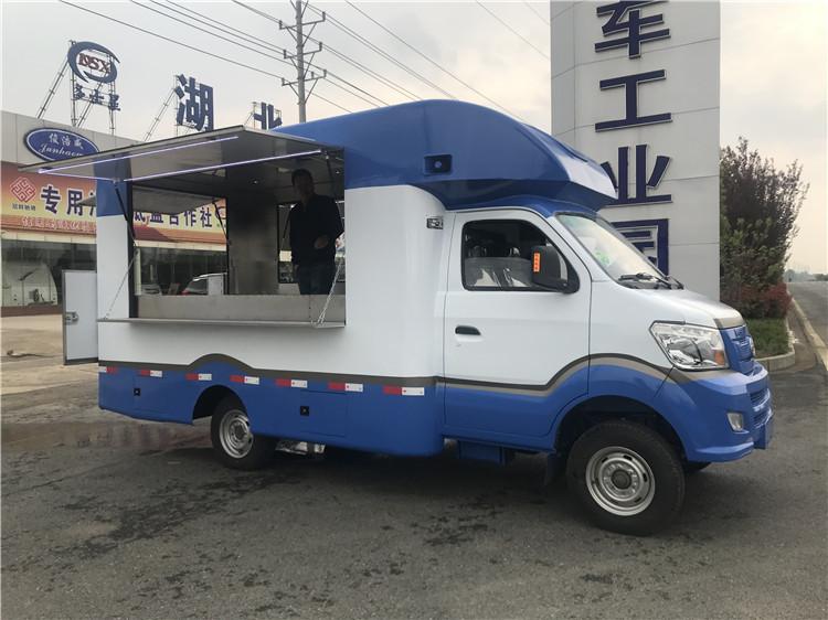 嘉兴小型移动售货车 流动厨房宴席歺车行情