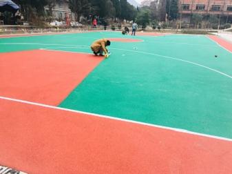 河北邢台幼儿园环保塑胶地坪施工标准