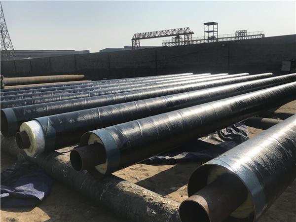 无锡外滑动钢套钢地埋保温管道安装流程图