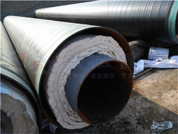 福鼎地埋蒸汽保温管设计安装图