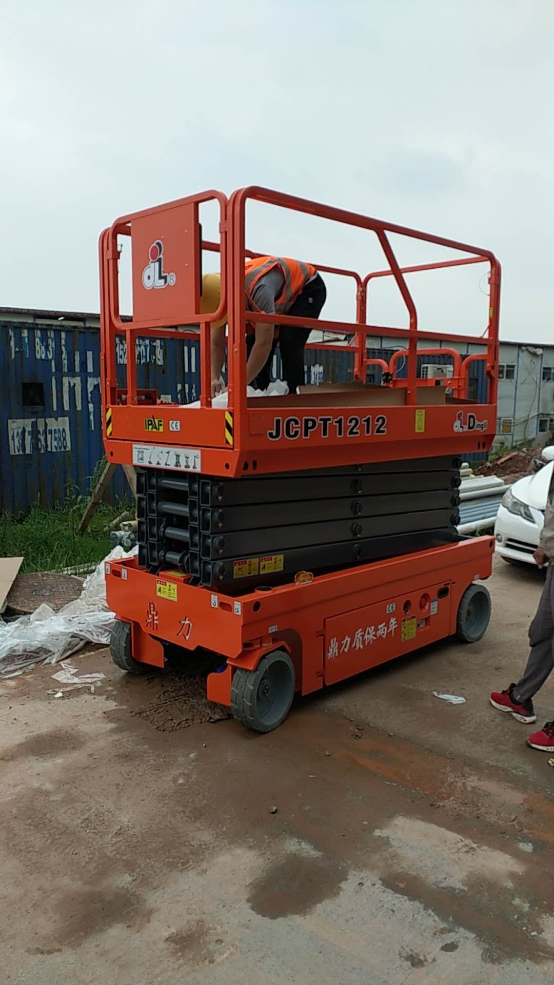 吉安峡江可移动式高空车租赁价格低