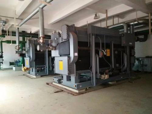 东莞横沥半封闭活塞压缩冷凝机组回收-客户见证