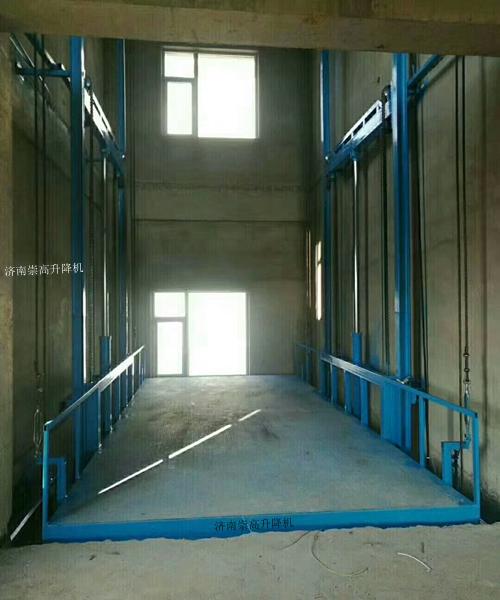 鹰潭导轨升降机+载货升降货梯加装电话