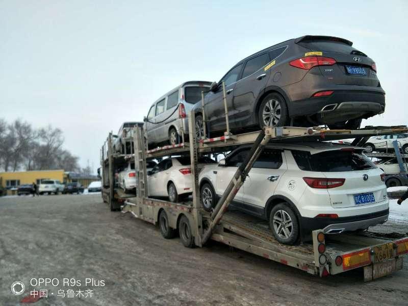 新疆库车到许昌托运私家车-竞价平