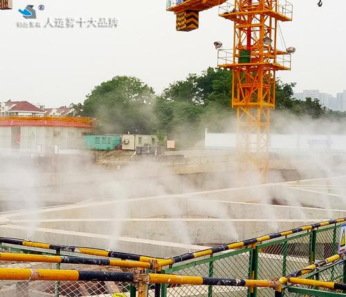 花山售楼部景观人工造雾设备