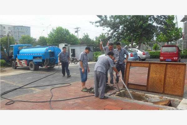 武清开发区市政管道清淤检测具体工序及流程