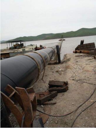 洛阳水下铺管道施工—沉管施工