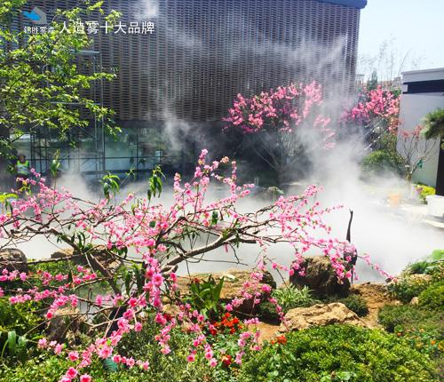 海南海口音乐公园人造喷雾景观设施
