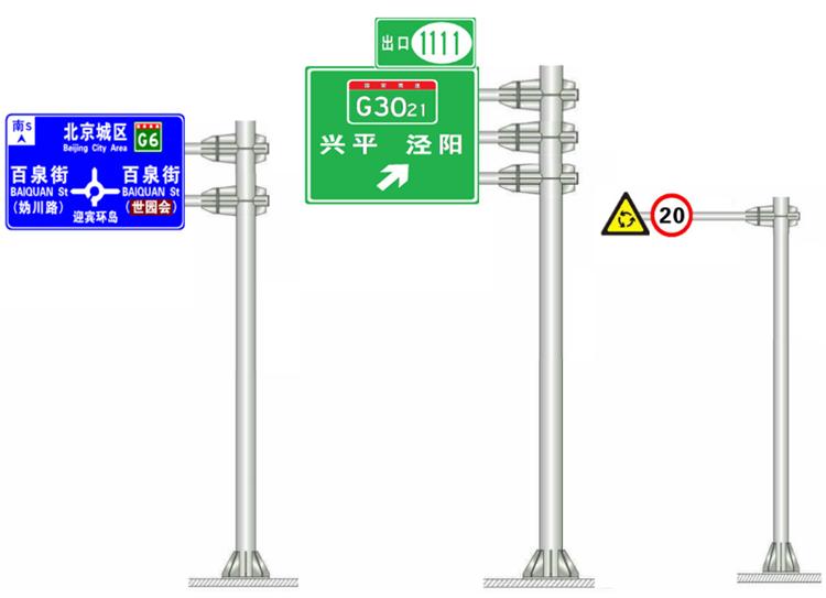 245交通标志F杆 吴忠铁路桥涵限高防护架加工厂家报价