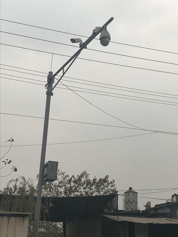 晋宁地铁轨道智能告警监控立杆真正厂家直销不满意退货