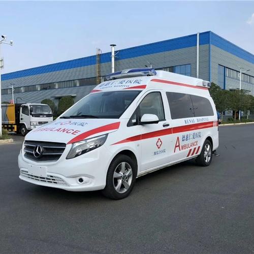 市中心医院监护型120救护车一辆多少钱