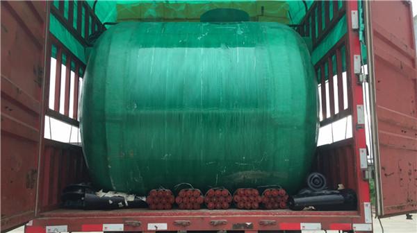 20立方玻璃钢水罐单价,简阳抗压污水收集池