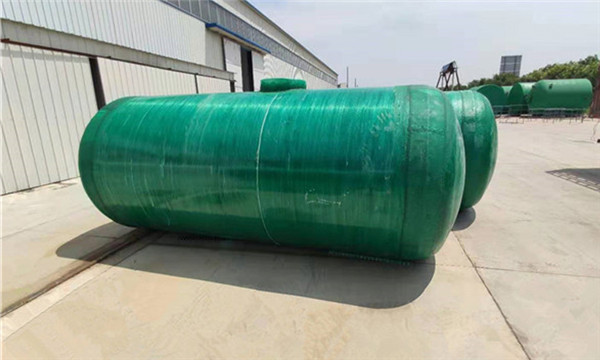 黄冈地埋蓄水池,重庆三格玻璃钢化粪池