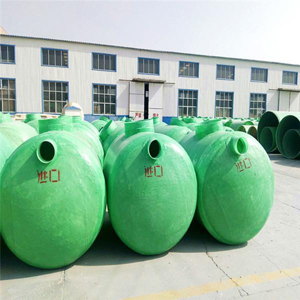 海林直埋式抗压化粪池,20立方化粪池规格型号