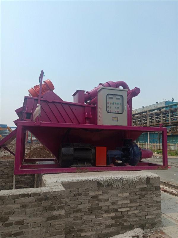 淮北工地泥浆处理车简单好用