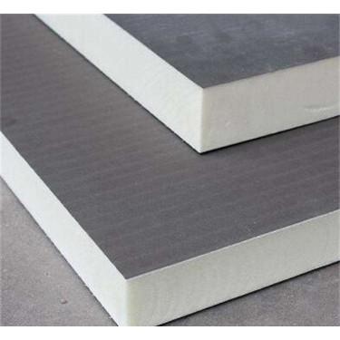 滨州屋面保温聚氨酯复合板  30mm A级防火复合聚氨酯板厂家价格