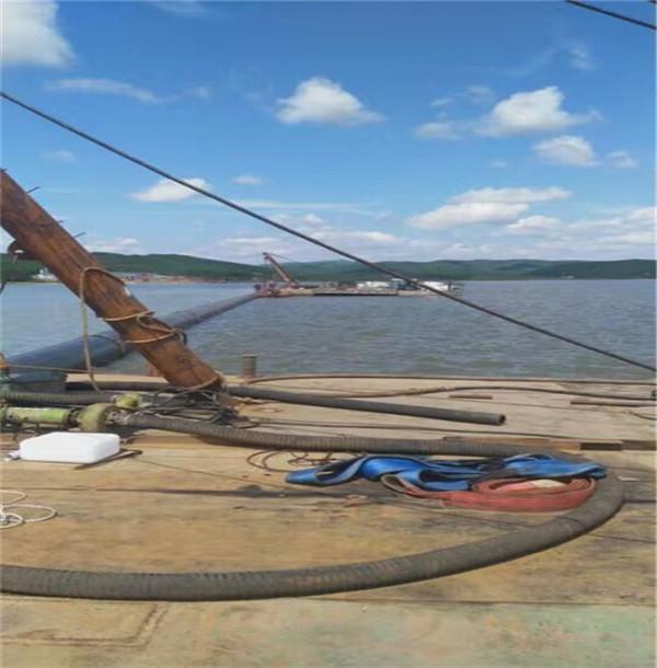 淮安市水上固定拼装台船—-(专业水上施工