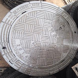 安庆市球墨铸铁污水井盖圆形井盖