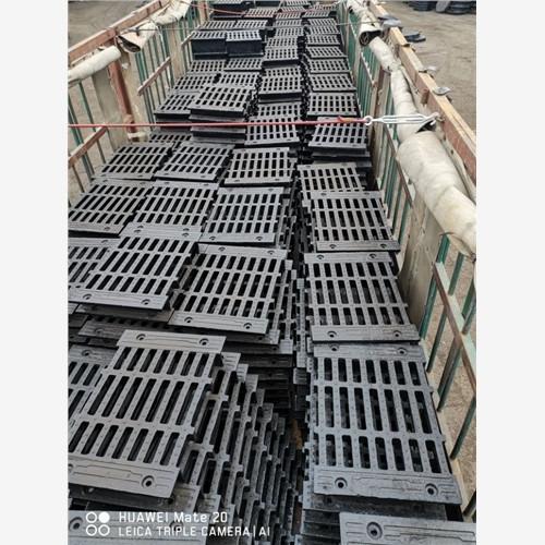 鸡东广州市政球墨铸铁井盖篦子-厂家定做