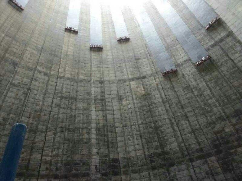 鸡西恒山凉水塔防腐公司——环保作业公司