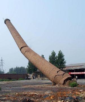 灞桥区水泥烟囱拆除公司在线咨询