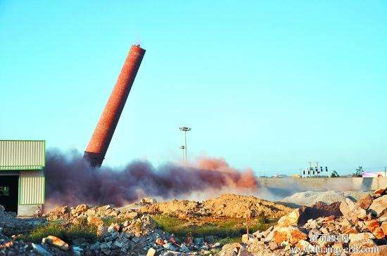 芜湖水泥烟囱拆除_公司电话|比同行价低